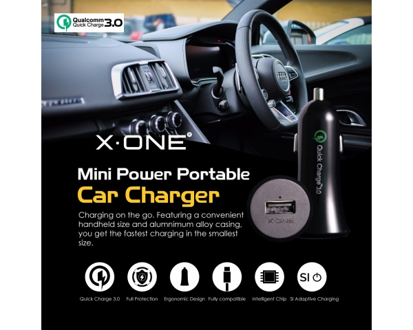 Car Charger(Mini power portable)